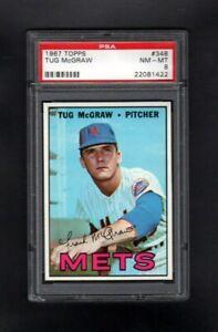 1967-TOPPS-348-TUG-MCGRAW-NEW-YORK-METS-PSA-8-NM-MT-CENTERED