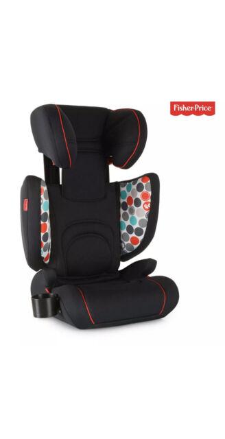 FisherPrice Hauck Bodyguard Pro Isofix High Back Booster Car Seat 3 Year + Black
