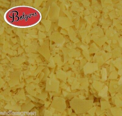 Bolgers Carnauba Wax Flakes T3 grade - use with beeswax to make wax polish  100g