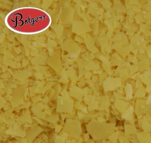 Bolgers Carnauba Wax Flakes T3 grade use with beeswax to make wax polish  100g