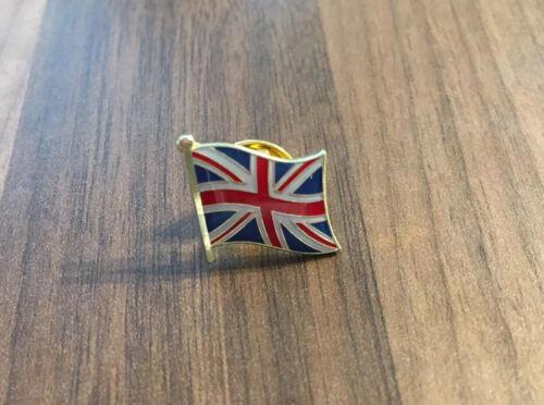 Lapel Pin Badges Bulk Buy! UK GREAT BRITAIN UNION JACK Metal Enamel Flag