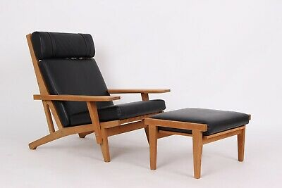 Find Wegner Getama Lænestol på DBA køb og salg af nyt og brugt