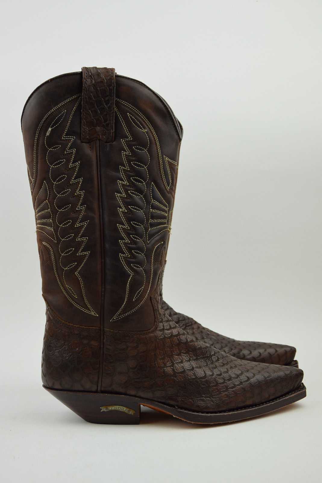 Sendra Style Western Cowboy bottes Marron Femme Taille 3.5