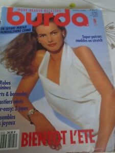 MAGAZINE-BURDA-ROBES-FEMININES-SHORTS-BERMUDAS-BUSTIERS-ETC-MAI-1991