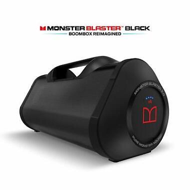 Monster Blaster Water Resistant Portable Bluetooth Speaker