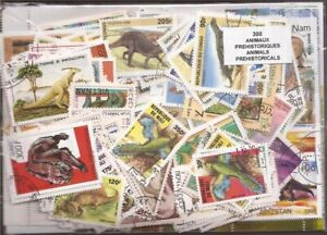 Dinosaurs & Prehistoric Animals Collection - 300 Different Stamps