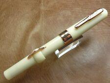 CK7113 Black//Rose Gold Conklin Fountain Pen Mark Twain Crescent Filler