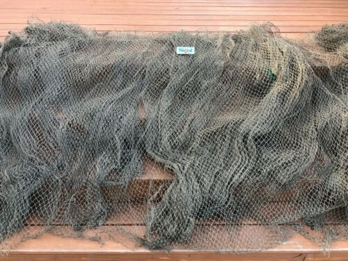 Authentic Used Fishing Net ~ 20/' x 40/' ~ Commercial Fish Netting ~Nautical Decor