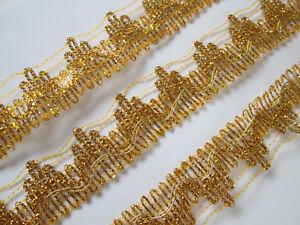2-Meter-Gold-Spitze-2-5cm-breit-Borte-Eroeffnungspreis