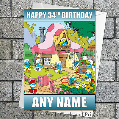 plus envelope. 5x7 inches Panic at the Disco birthday card Personalised