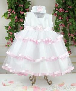 Taufe Taufkleid Babykleid Winteranzug  Kleid Polarflecce 3-teilig,Gr.62-86,PCH07