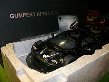 GUMPERT APPOLO S de 2005 Noir au 1/18 AUTOart SIGNATURE 71301 voiture miniature