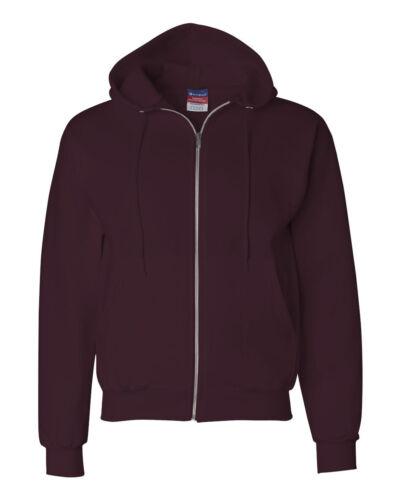Champion Eco Full-Zip Hooded Sweatshirt Fleece Hoodie S-3XL Sizes S800