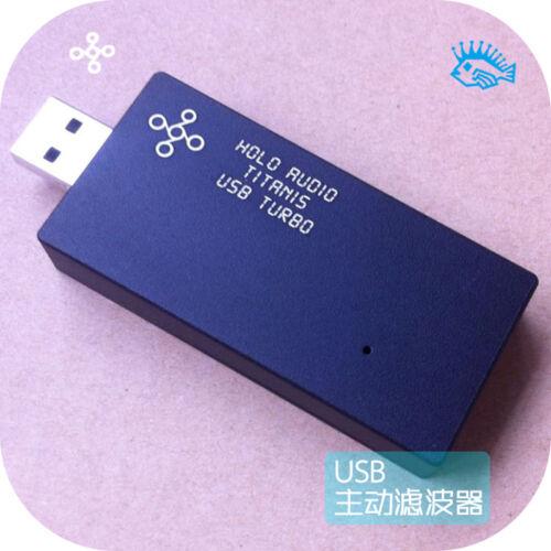 USB Processor Noise Filter Power Regeneration Signal Rearrangement Holo Audio