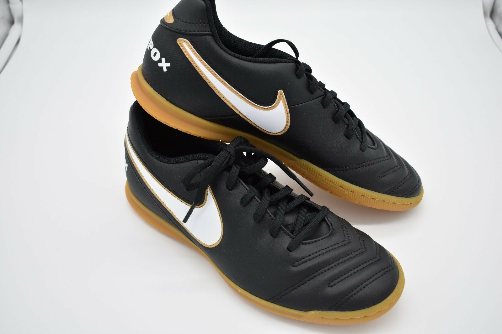 Nike Tiempo Rio III IC Men's Indoor Soccer Shoe 819234-010 Black Comfortable The most popular shoes for men and women
