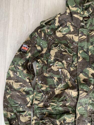 Superdry Mens Rookie Splatter Para Parka Jacket Medium BRAND NEW WITH TAGS