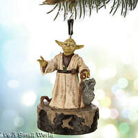 Disney Store Yoda Talking Sketchbook Ornament Star Wars