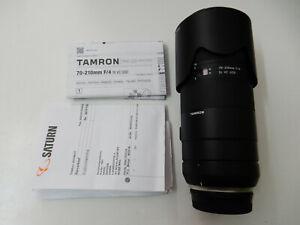 Tamron-70-210mm-F-4-Di-VC-USD-fuer-Nikon-Objektiv-TOP-Zustand