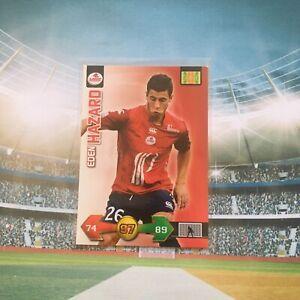 RC Rookie Eden HAZARD LILLE FOOT ADRENALYN CARD PANINI 2010 Réal Madrid Chelsea