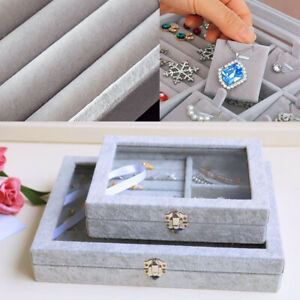 Jewellery-Box-Earring-Holder-Ring-Jewellery-Box-with-Clear-Glass-Lid