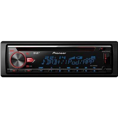 Pioneer DEH-X7800DAB Autoradio 1-DIN mit DAB+ und Bluetooth DAB+ Spotify AUX USB