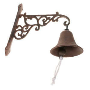 Image Is Loading Cast Iron Door Bell Chime Doorbell Wall Mounted