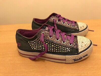 skechers twinkle toes Girls Sneaker