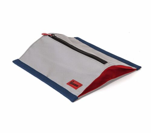 Grey//Navy//Rust Red Crumpler  THE ALL and SUNDRY Pouch