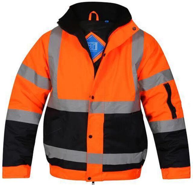 Hi Vis Standard Storm Bomber Jacket Orange