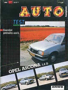 Automobilia Auto & Motorrad: Teile Bmw NiederlÄndisch Heller Glanz 1982 Autokampioen Magazin 23 Opel Ascona 1.6d Veluwe Sp