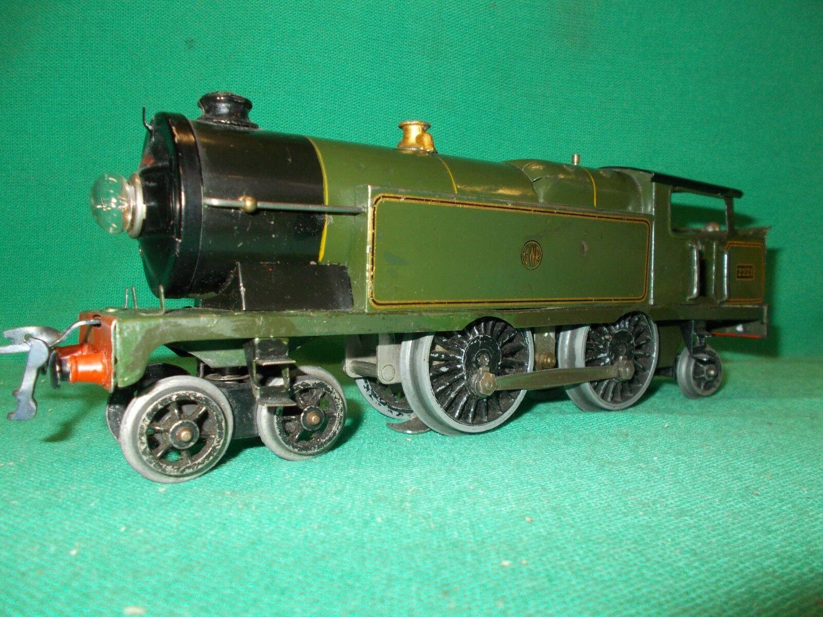 HORNBY O Gauge Electric No.2 MIXED GOODS SET GWR Circa 1937 Excellent Gauge 0