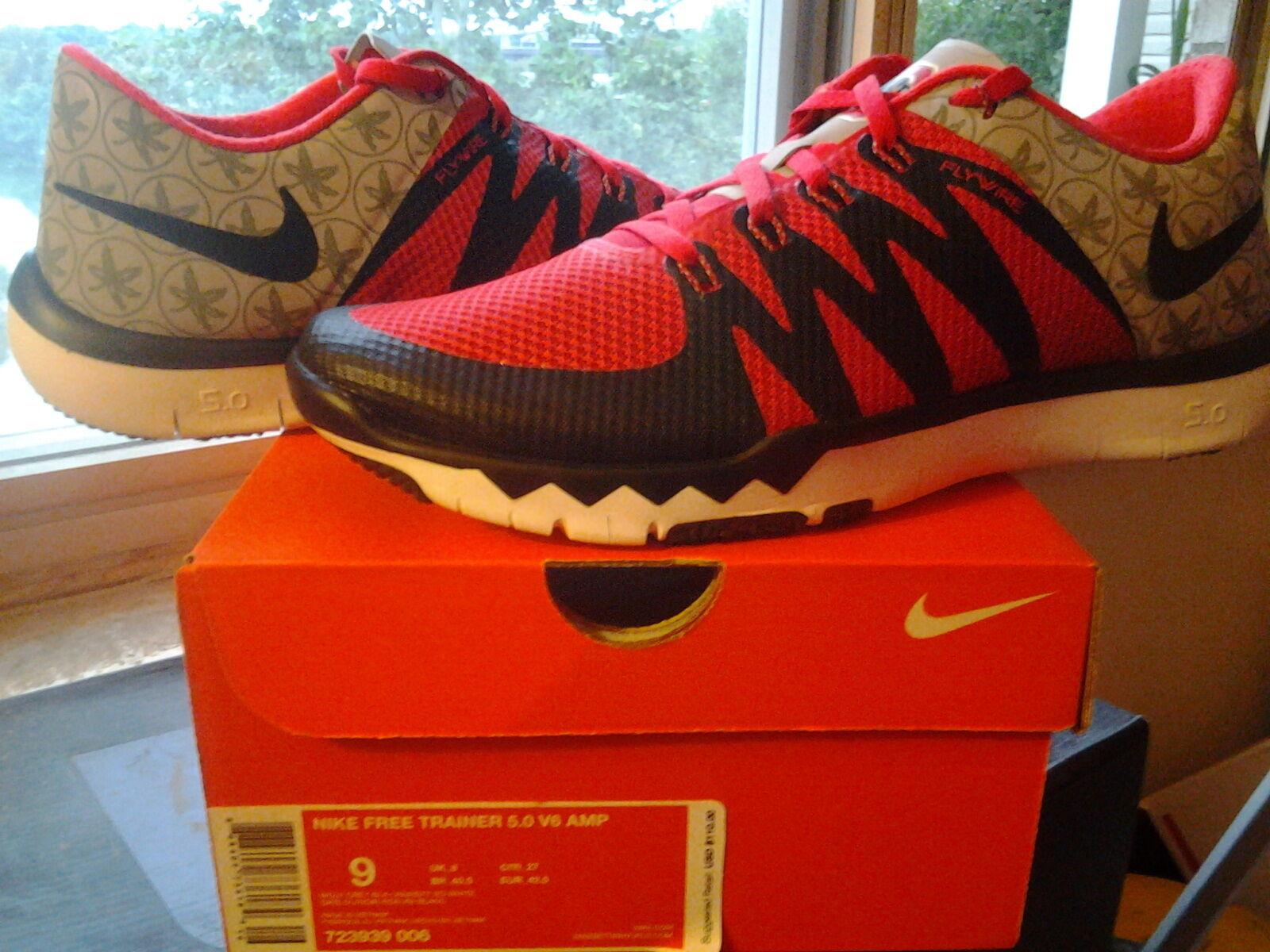 Nike air trainer free 5.0 v6 amp ohio 0 state osu buckeyes woche 0 ohio 0 723939 006 759f99