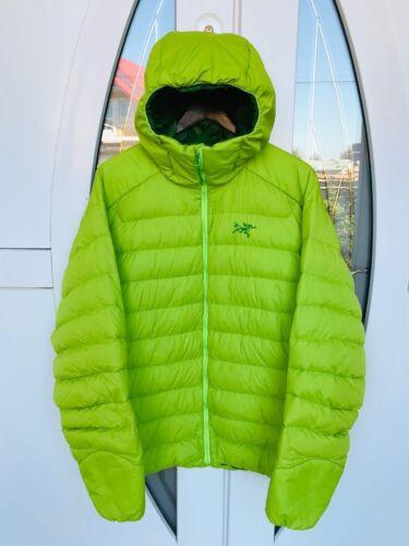 Arcteryx Mens LT Hoody Down Jacket Green Size XL