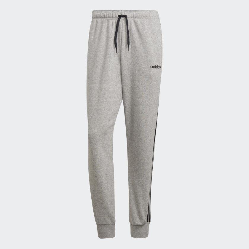Adidas Herren Trainingshose E 3S T PN FT (DQ3077) Grau-Weiß, Gr. M-XL NEU