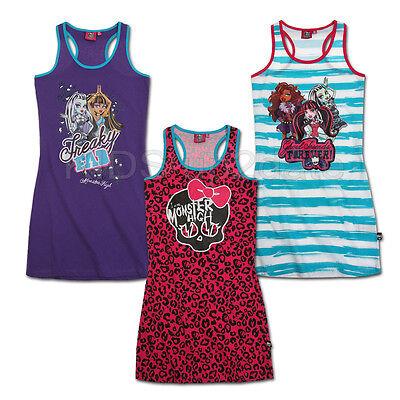 Monster High Kleid ★ Tank Top Sommerkleid Trägerkleid ★ 128 140 152 164 ★ Tunika   eBay