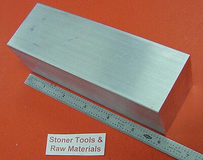 "2/"" X 2/"" ALUMINUM 6061 SQUARE BAR 8/"" long Solid T6511 2.00/"" New Flat Mill Stock"