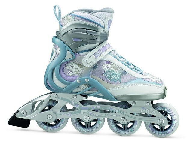 Fila EVE weiss lila Damen    Inliner Skate Inlineskate Freizeit  Gr. 42  - SALE 55c54f