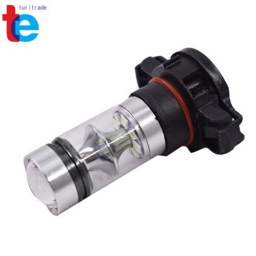 2x H16 5202 PS24WFF 8000K Ice Blue 100W CREE LED Fog Light Driving Bulb DRL NEW