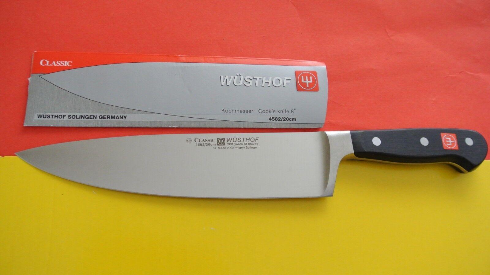 Wusthof Classic Cook's Knife Edge PEtec  4582 20cm 8  200 ans anniversaire