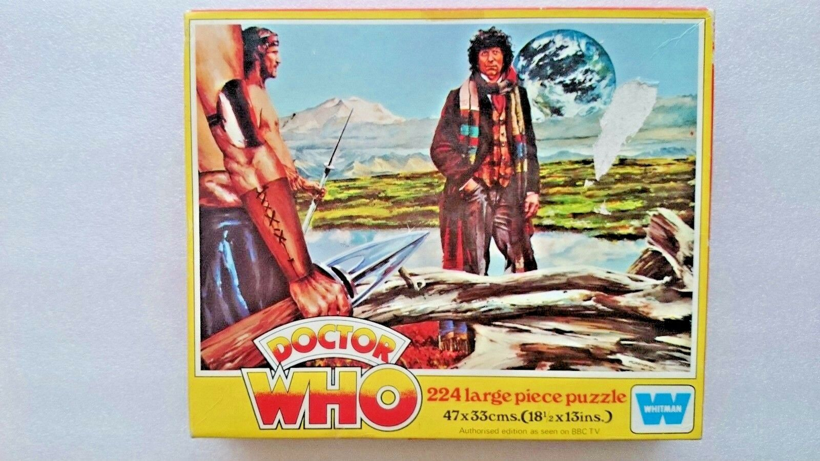 Vintage Doctor Who 224 Piece Jigsaw by Whitman 1977  (7836)
