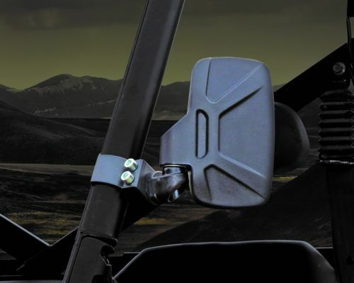 New Design Seizmik Breakaway Side View Mirrors Pro-Fit Polaris Ranger ETX 2015+