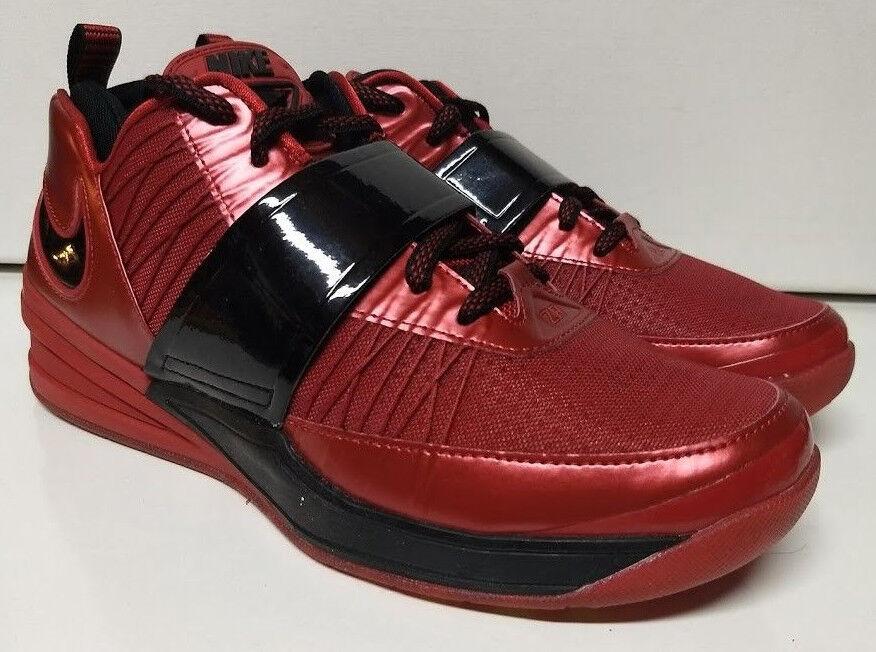 nike zoom varsity revis 9,5 varsity zoom Rouge  de taille de formation 555776-600 chaussure basket 850898