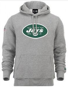 Squadra Uomo Col Felpa Nfl Abbigliamento New Jets Logo Da Con York Cappuccio Era nqFZFPYX