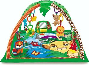 Baby-Playmat-Musical-Garden-Play-Mat-amp-Fun-Sensory-Toys-amp-Mirror