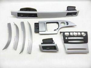 BMW-5er-E61-E60-Bj-03-07-Dekorleisten-Interieurleisten-Alu-Cupe-Pure-Feinschliff