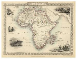 Africa-illustrated-map-John-Tallis-ca-1851