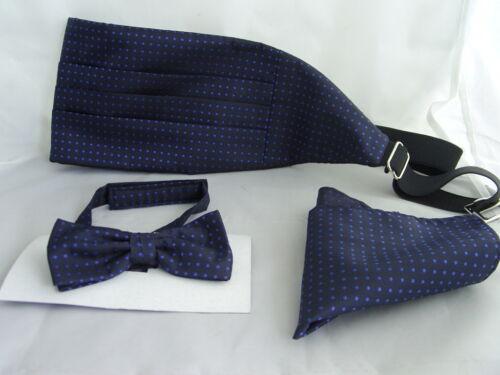 "$230 NWT BRIONI Navy Paisley Jacquard I 04 15AJ 3.25/"" Woven Silk Neck Cravat Tie"