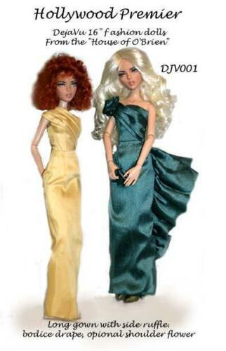 "DJV001 Hollywood Premier pattern for 16/""  Deja Vu by Tonner"