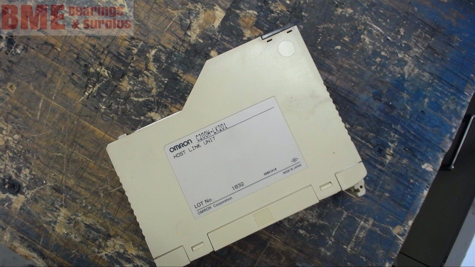 OMRON C200H-LK201 HOST LINK UNIT