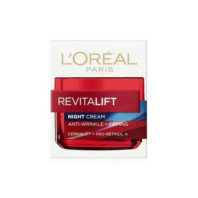 Health & Beauty Night Cream By L'oreal Paris Revitalift 50 Ml Available In Various Designs And Specifications For Your Selection Skin Care